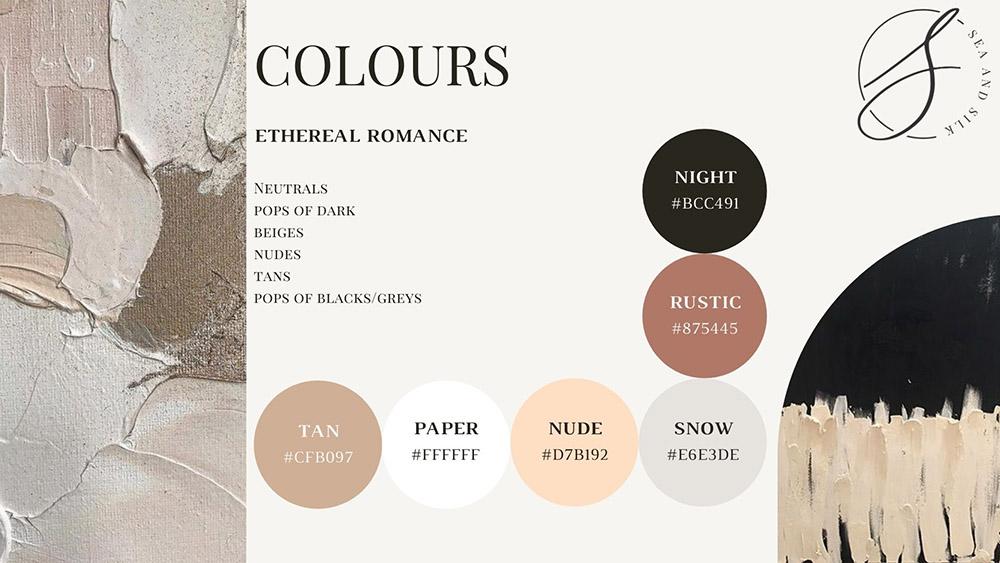 My Wedding Design Colours