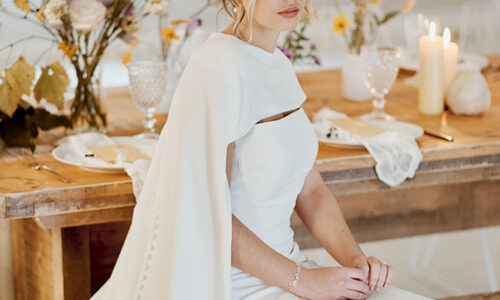 Sea and Silk Cumberland Belle Styled Shoot Bride