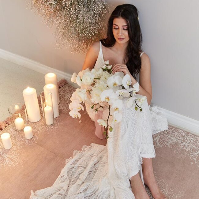 Sea and Silk Cumberland Belle Styled Shoot Bride and Decor