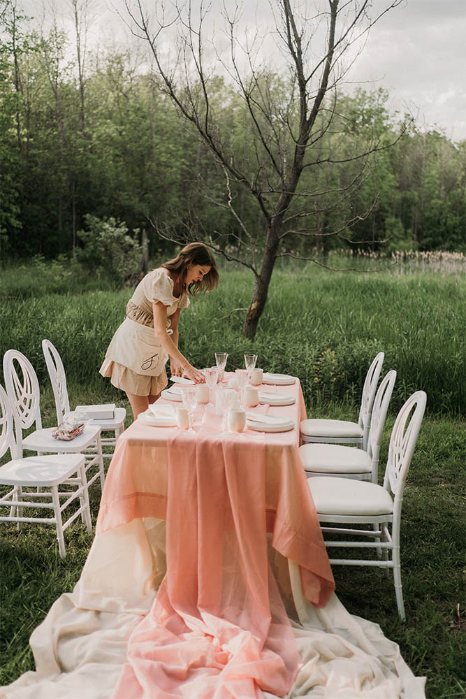 Sea and Silk_Why Wedding Pros Do Styled Shoots Prep for Pink Table