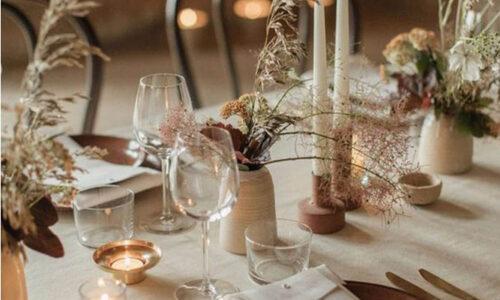 Sea and Silk_ Fall Wedding Tablescape